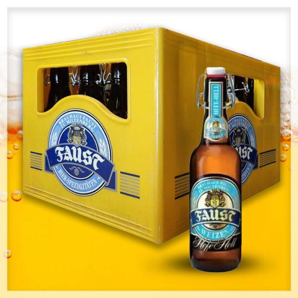 cassa birre Faust Hefe Weizen